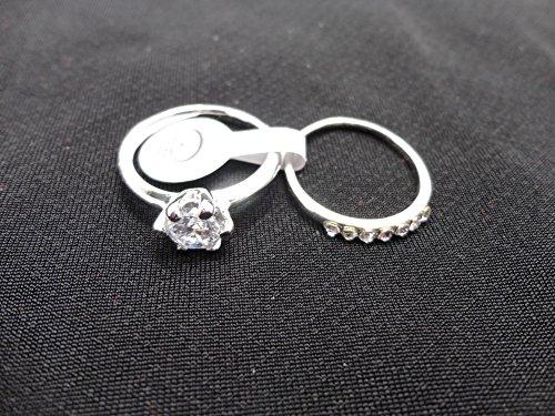 AIHIQI Fashion Wholesale Lots Rhinestone Cz Finger Ring for Mens Womens Gift (10pair (No Box)) by AIHIQI (Image #2)