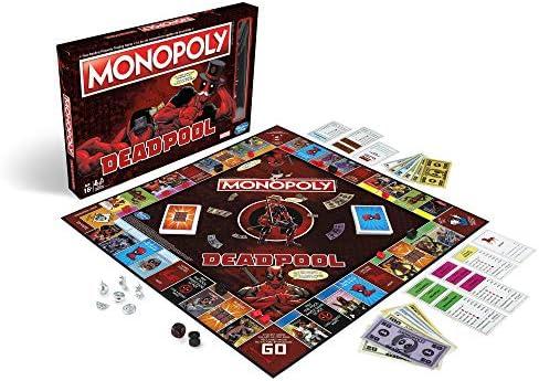 Monopoly - Deadpool Edition: Amazon.es: Juguetes y juegos