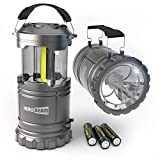HeroBeam 2 x LED Lantern V2.0 with Flashlight - Latest COB Technology (350 LUMENS) - Collapsible Camp Lamp - Great Light for Camping,...