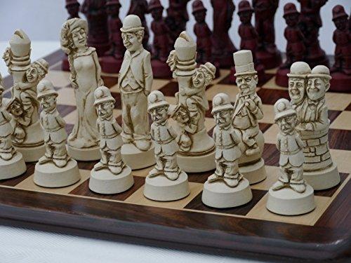 【激安アウトレット!】 Movie Stars Ornamental Chess no Set (cream and Set red, no Chess board) B071VV7VNP, あいあいショップさくら:dac0fc72 --- nicolasalvioli.com
