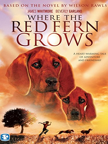 Amazon Com Where The Red Fern Grows James Whitmore