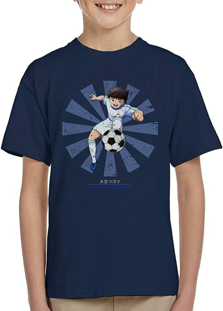 Cloud City 7 Tsubasa Oozora Retro Japanese Kid's T-Shirt