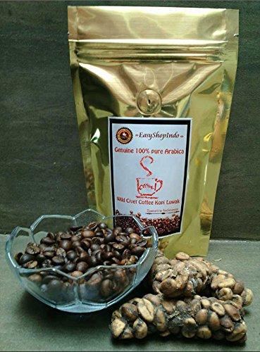 Genuine Arabica Civet Coffee Roasted