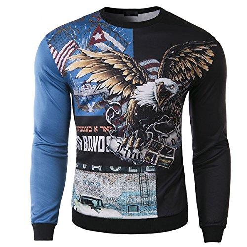 Funny World Mens Eagle Sweatshirt product image