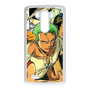 Stylish One Piece Design LG G3 Cell Phone Case Funda blanco 146
