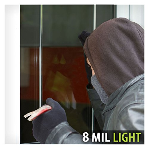 BDF S8MB50 WIndow Film Security and Safety 8 Mil Black 50 (Light) - 48in X 24ft by Buydecorativefilm (Image #3)