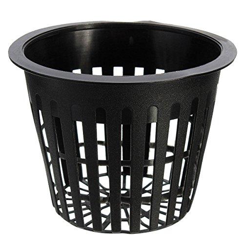 10 Mesh Pot Net Basket Insert Plant Hydroponic Green - 1