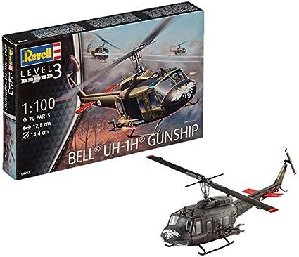 Revell Bell UH-1H Gunship 1:100 Revell 04983   .