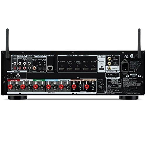 Denon Avr X1300w Receiver Bundle With Boston Acoustics