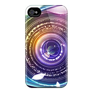 Iphone 5/5s Case Bumper Tpu Skin Cover For Digital Abstract Eye Accessories