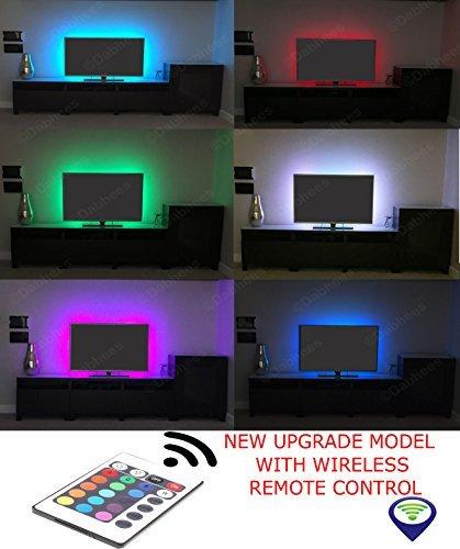 Multi Colour Rgb 50cm 197in Usb Led Strip Light Led Tv Background