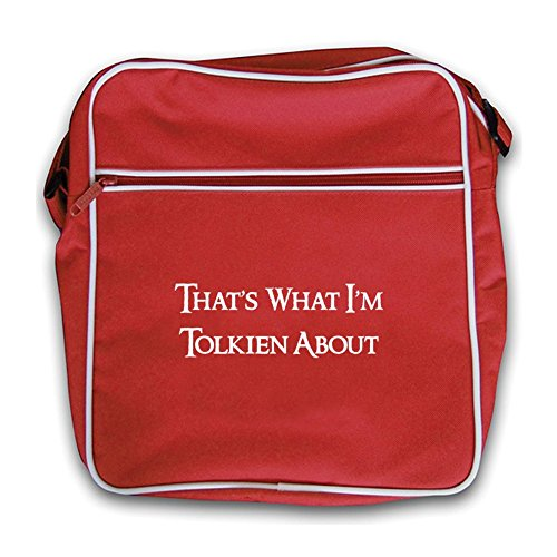 Bag Red Red Retro About That's I'm Tolkien Flight What 0ZxqYwv