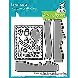 Lawn Fawn Lawn Cuts Custom Craft Die - LF1705 Shadow Box Card Ocean