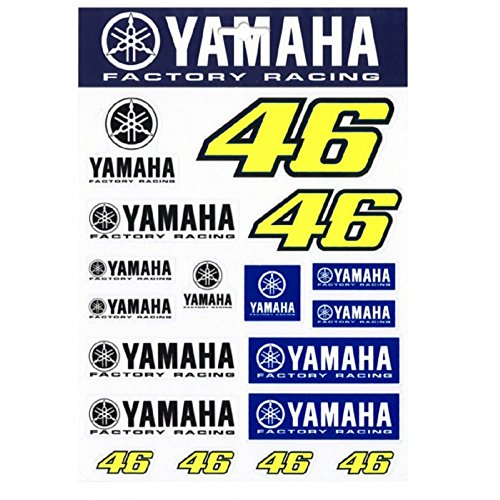 Price comparison product image Valentino Rossi VR46 Yamaha Factory Racing Team Moto GP Stickers Official 2016