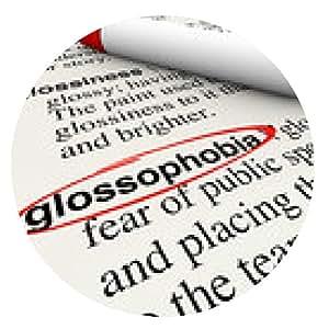 alfombrilla de ratón Hablar en público Diccionario glossophobia miedo definición de la palabra - ronda - 20cm