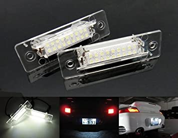 2x LED Licence Number Plate Light White No Error 911 Carrera 964 993