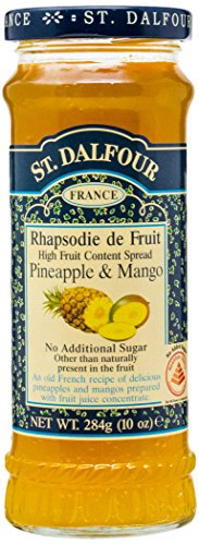 St. Dalfour Pineapple & Mango Fruit Spread, 10 Ounce ()