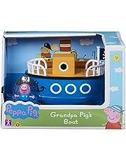 Peppa Pig 6928 GRANDPA PIG'S BOOT MET GEORGE, Multi