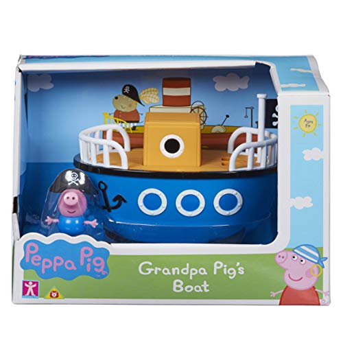 (Peppa Pig 6928 Grandpa Pig's Boat with George Multi)