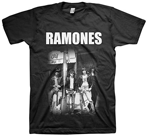 Ramones- Outside the CBGB T-Shirt Size XXL