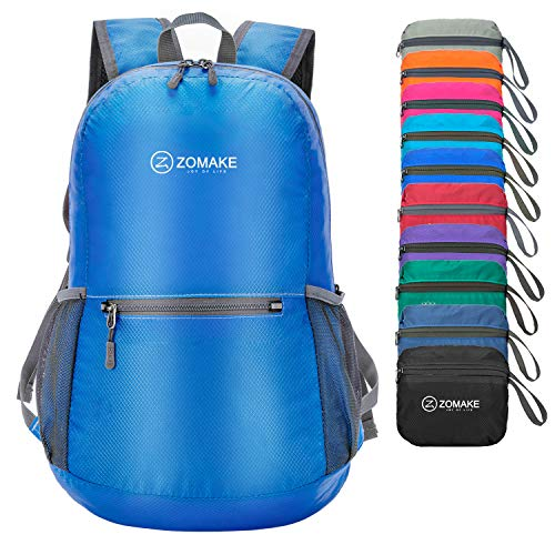Day Trip Cable Sweater - ZOMAKE Ultra Lightweight Packable Backpack Water Resistant Hiking Daypack,Small Backpack Handy Foldable Camping Outdoor Backpack Little Bag
