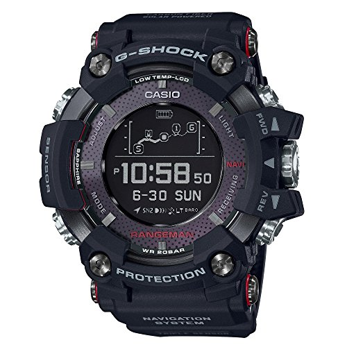 Men's Casio G-Shock Rangeman Black Watch GPRB1000-1 ()