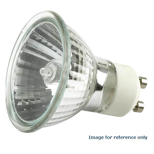 bulbamerica 50 watts 120v mr16 exn gu10 fl fg halogen light bulb ...