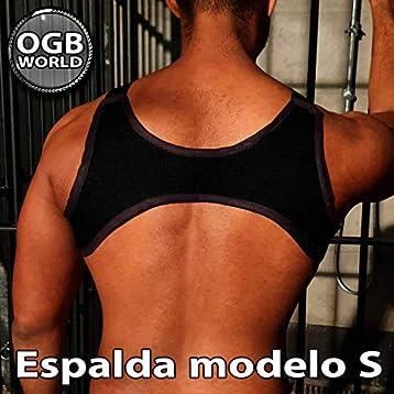 OGBWorld ARNÉS DE PECHO HOMBRE - Diseño en M - Espalda modelo S en ...