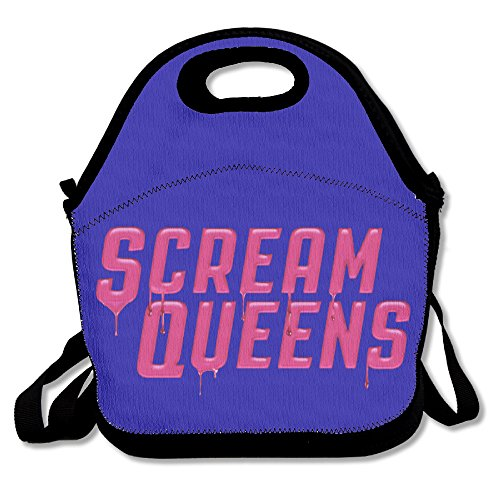 Black Scream Queens Unisex Lunch Bags For Woman Man Kid