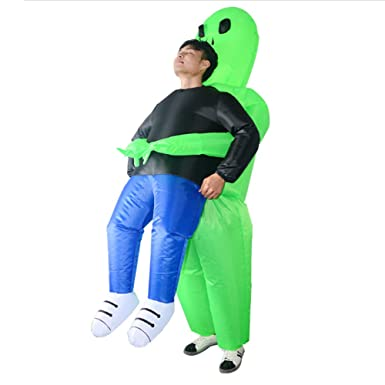 Amazon.com: Nuxn Inflable Disfraz de Navidad Inflable Verde ...