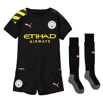 super popular ed0aa d91b2 Amazon.com : PUMA 2019-2020 Manchester City Away Little Boys ...