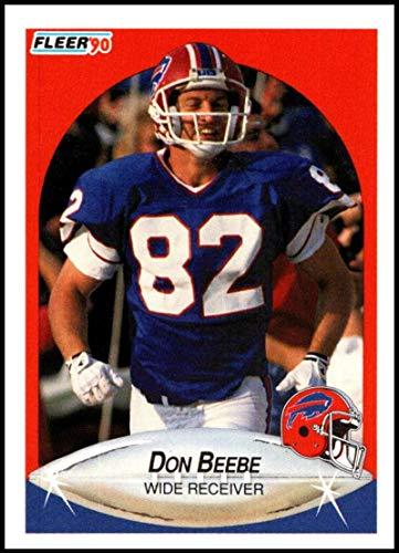 1990 Fleer #110 Don Beebe NM-MT Buffalo Bills Officially Licensed NFL Football Trading Card