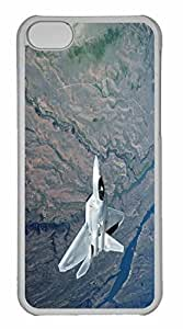 iPhone 5C Case, Personalized Custom War Airplane 12 for iPhone 5C PC Clear Case