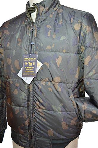 Woolrich Winter Reversibile Dag Verde Cn03 Wocps2622 M Tg papq6wr