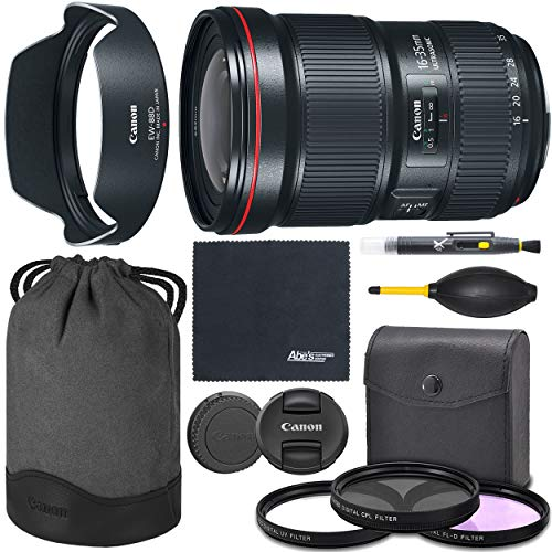 Canon EF 16-35mm f/2.8L III USM Lens (0573C002) + AOM Bundle Package Kit - International Version (1 Year AOM Wty)