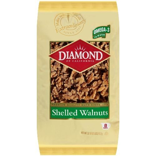 Diamond of California Shelled Walnut, 32 Ounce (Pack Of 12)