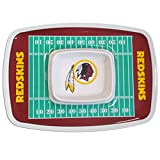 NFL Washington Redskins Melamine Chip & Dip Tray