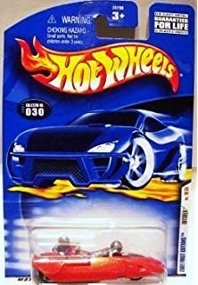 0910 2002 HOT WHEELS  /'/'FIRST EDITIONS/'/' #022 = NOMADDER WHAT = ORANGE  star