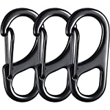 Jovitec 12 Pieces Dog Tag Clips Pet Tag Rings Dog