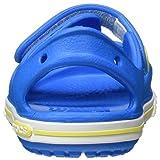 Crocs Kids' Crocband II Toddler Sandal, Blue
