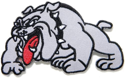 large bulldog patch - 2