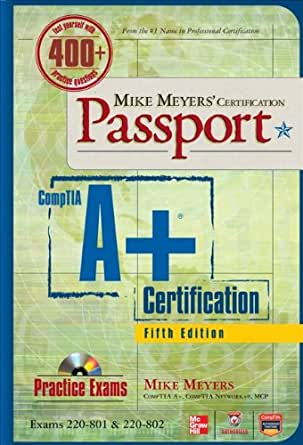 Comptia a+ book mike meyers