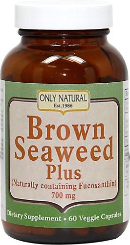 Brown Seaweed (Only Natural Brown Seaweed Plus, 700mg (60 Veggie Caps))