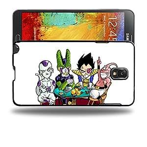 Case88 Designs Dragon Ball Z GT AF Son Goku Super Saiyan Vegeta Buu Freezer & Cell Protective Snap-on Hard Back Case Cover for Samsung Galaxy Note 3