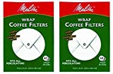 Kitchen Appliance Bundle Packages Melitta White Wrap Around Coffee Filter for Percolator (Pack of 2)