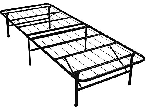 Best Price Mattress 8-Inch Tight Top iCoil Spring Mattress and Metal Platform...