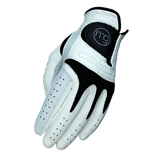 MG Golf TechGrip All-Cabretta Leather Golf Glove (Men's Regular Sizes) - Medium-Large