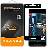 Supershieldz [2-Pack] for Google (Pixel 2) Tempered Glass Screen Protector, Anti-Scratch, Bubble Free, Lifetime Replacement Warranty (Black)