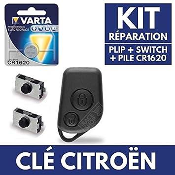 Caja mando a distancia Jongo - Carcasa para llave de Citroen ...