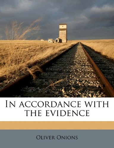 In accordance with the evidence ebook